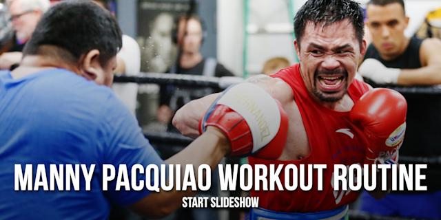 (Photo by Wendell Alinea/MP Promotions and graphic by Paul Rosales/Yahoo Sports)