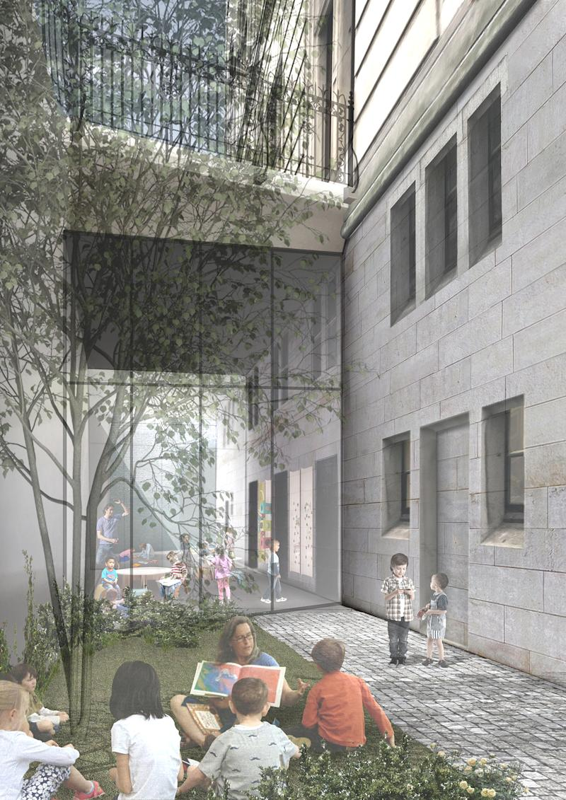 Plans to transform the learning centre at the National Portrait Gallery