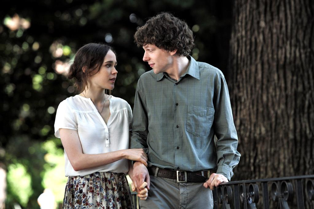 """Ellen Page and Jesse Eisenberg in Sony Pictures Classics' """"To Rome With Love"""" - 2012"""