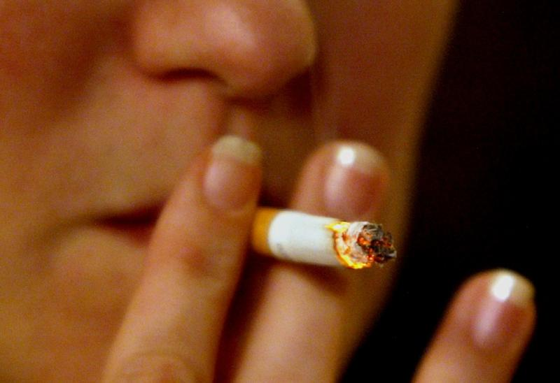 Some 48.5 percent of nearly 346,000 deaths attributed to one of the 12 types of cancer known to be caused by smoking were due to cigarette use, according to the study (AFP Photo/Nicolas Asfouri)