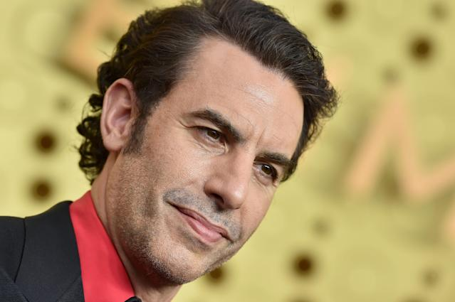 Sacha Baron Cohen bei den Emmy-Awards in Los Angeles. (Photo by Axelle/Bauer-Griffin/FilmMagic)