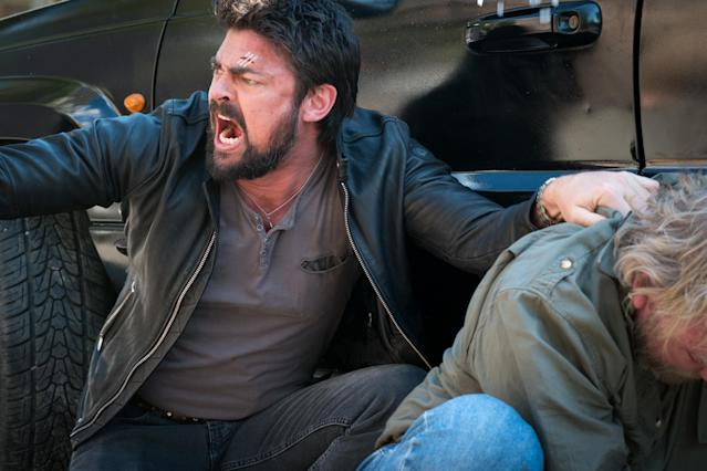 Urban plays a disgraced cop looking to clear his name in <em>Bent.</em> (Photo: Lionsgate)