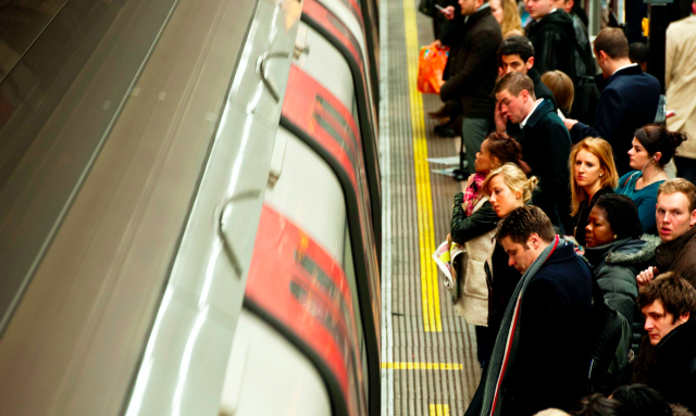 Fine PM2.5 particles were found to be far greater on the Underground than in other modes of transport. (SWNS)