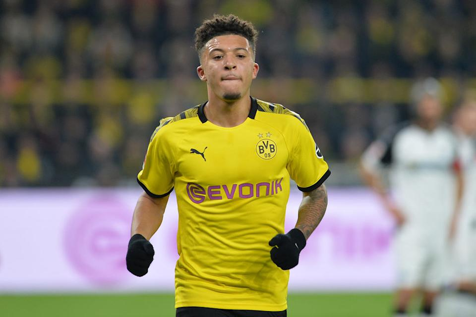 <strong>2 - Jadon Sancho</strong> (19 ans), Angleterre/Borussia Dortmund.