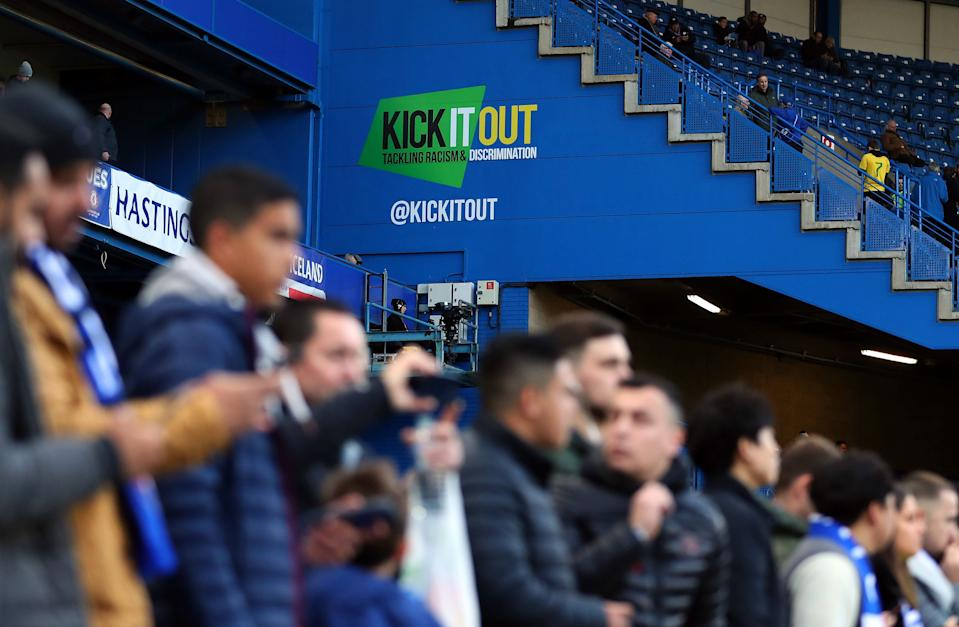 Kick it out praised Chelsea for the dealing of the situation