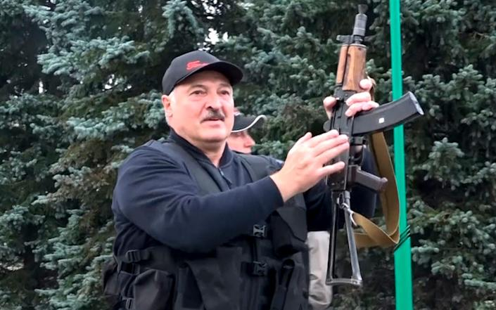 'We used to catch migrants in droves here,' embattled Belarusian dictator Alexander Lukashenko told parliament last month. 'Now, forget about it. You'll be catching them yourself.' - AP