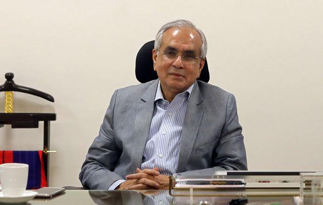 Rajiv Kumar, vice chairman of NITI Aayog (National Institute for Transforming India), in a file photo.