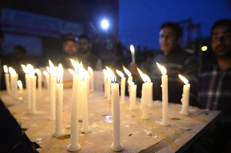 There have been protests and vigils across India, demanding action by the government (AFP Photo/TAUSEEF MUSTAFA)
