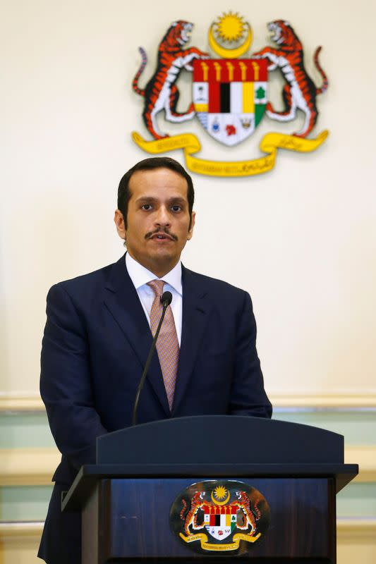 No breakthrough in Gulf dispute, Qatar foreign minister says