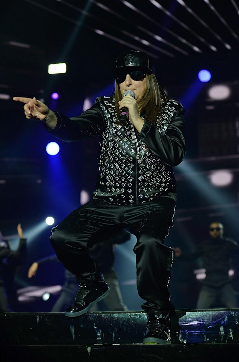 Photo by: KGC-246/STAR MAX/IPx 2017 3/4/17 Honey G performing during The X Factor UK Live Tour at The Manchester Arena. (Manchester, England, UK)