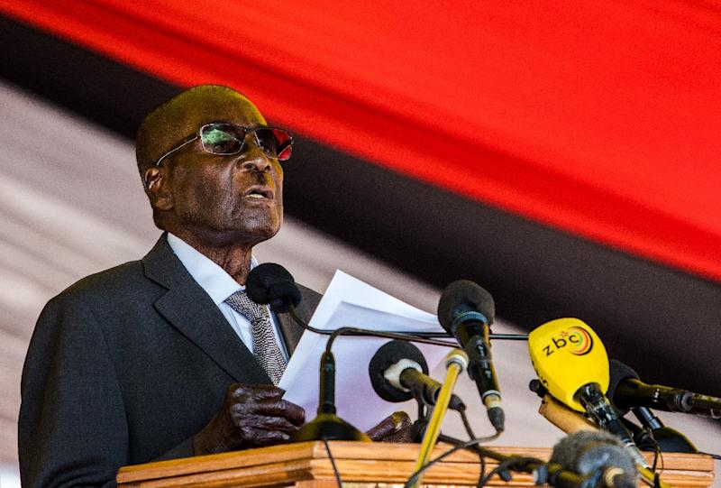 Mugabe Already Has Numerous Public Facilities Named After Him Including Roads Streets And The