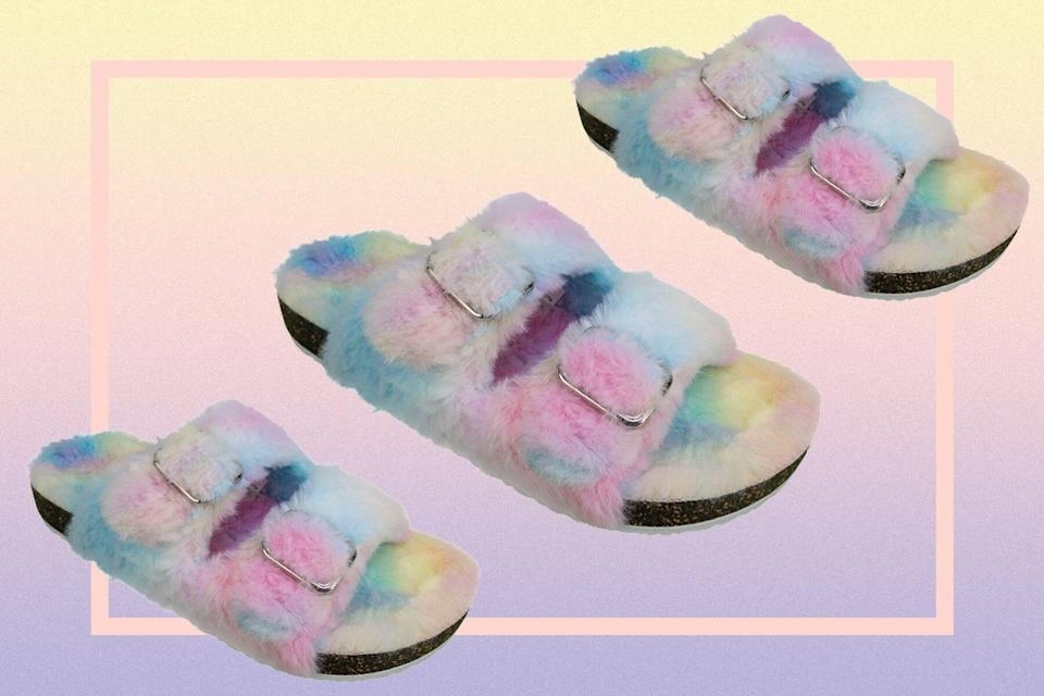 These $13 Fuzzy Slippers Are Just as Comfortable as My $150 Ones