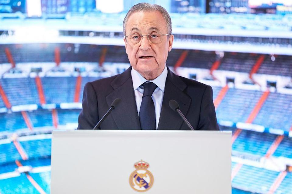 Florentino Pérez, president of Real Madrid, will be the first chairman of the Super League.