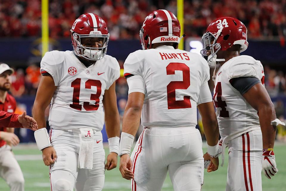 One of the top favorites to win the 2019 Heisman Trophy might catch you off guard when you first see it.