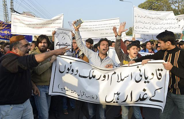 Anti-Ahmadi protest, Lahore