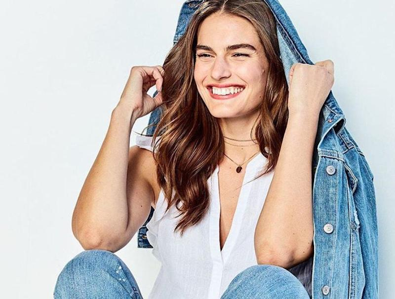 Old-Navy's best-selling denim jacket is under $50 and perfect for summer. (Photo: Old Navy)