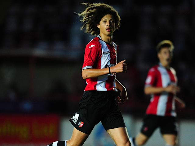 Chelsea swoop for 16-year-old Exeter defender Ethan Ampadu