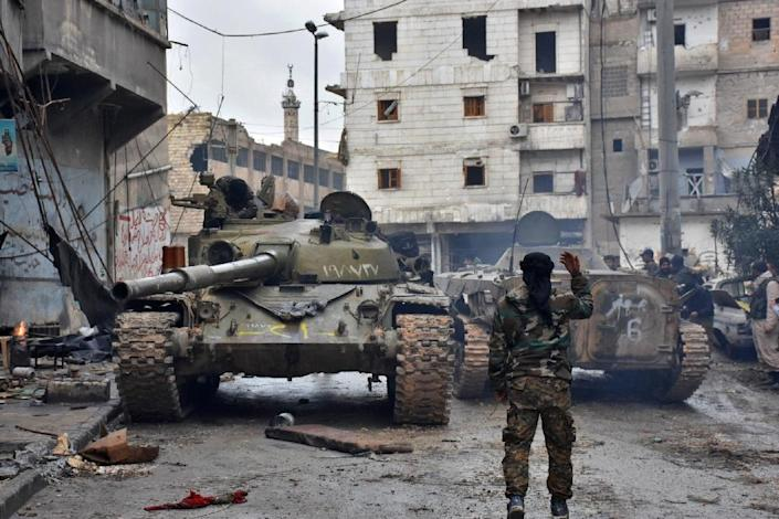 Both Damascus and the rebel factions have regularly accused one another of violating the ceasefire the zones were intended to bolster (AFP Photo/George OURFALIAN)