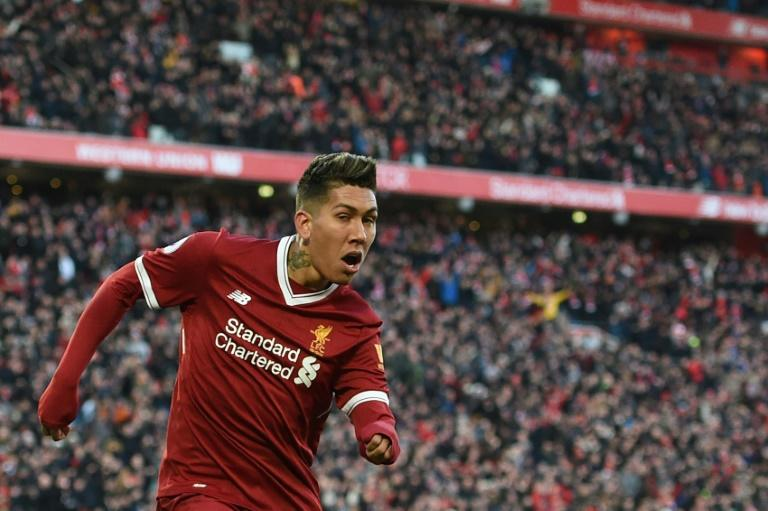 Liverpool's Brazilian midfielder Roberto Firmino has scored 22 goals this season
