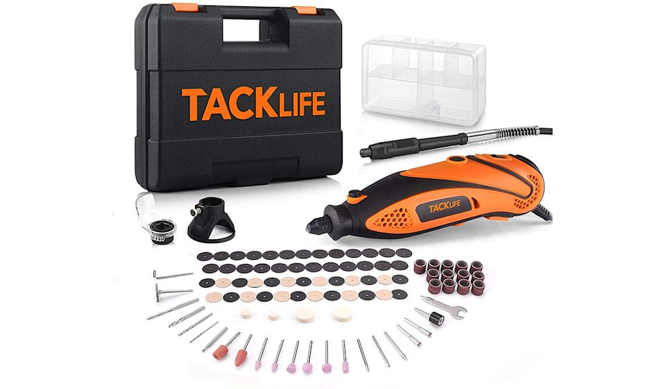 A powerful rotary tool with over 100 accessories (Photo: Amazon)