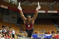 """<p>Gymnast Josh Dixon competed for Stanford and, after coming out in 2012, dreamt of becoming the first openly gay American Olympic gymnast. Though he <a href=""""https://www.colorlines.com/articles/biracial-athlete-hoped-be-first-out-american-gymnast-olympics"""" class=""""link rapid-noclick-resp"""" rel=""""nofollow noopener"""" target=""""_blank"""" data-ylk=""""slk:fell short of his goal"""">fell short of his goal</a> in 2012 and 2016, Dixon told <strong>Out</strong> that """"<a href=""""https://www.out.com/sports/2016/3/31/gymnast-josh-dixon-why-its-important-be-out-athlete"""" class=""""link rapid-noclick-resp"""" rel=""""nofollow noopener"""" target=""""_blank"""" data-ylk=""""slk:coming out was necessary"""">coming out was necessary</a> in accepting who I was,"""" allowing him to grow as a person and an athlete. """"It was more or less a decision to be a role model and to say, 'You know, it's okay to be yourself, and to be yourself in the sporting world.'""""</p>"""
