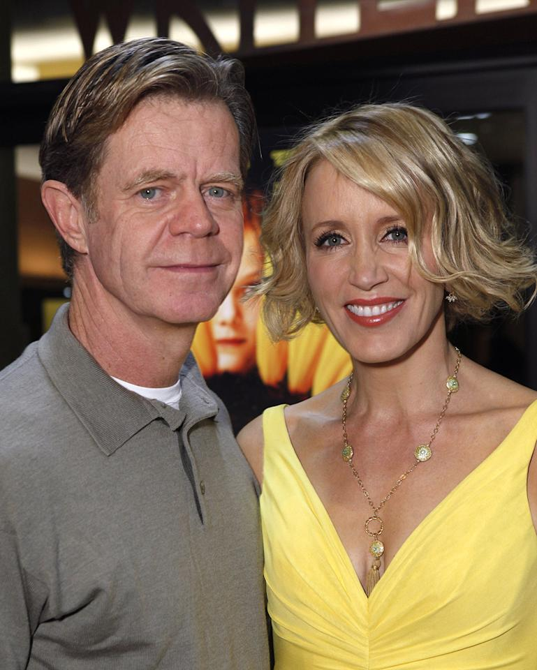 """<a href=""""http://movies.yahoo.com/movie/contributor/1800019192"""">William H. Macy</a> and <a href=""""http://movies.yahoo.com/movie/contributor/1800026107"""">Felicity Huffman</a> at the Los Angeles premiere of <a href=""""http://movies.yahoo.com/movie/1809912209/info"""">Phoebe in Wonderland</a> - 03/01/2009"""