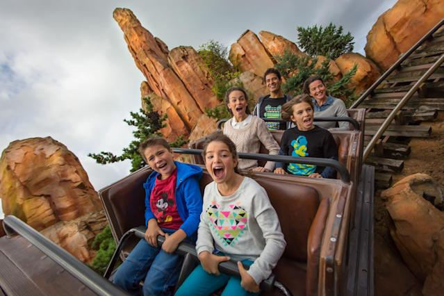 Enjoy rides such as Big Thunder Mountain. [Photo: Disney]