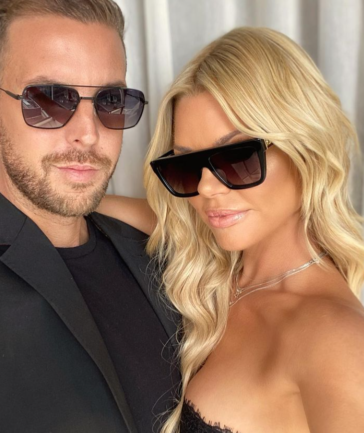 Sophie Monk and Joshua Gross glam photo