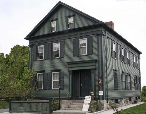 "The Lizzie Borden House in Falls River, Massachusetts, where she is said to given her father ""40 whacks,"" is home to one of the state's oldest unsolved crimes."
