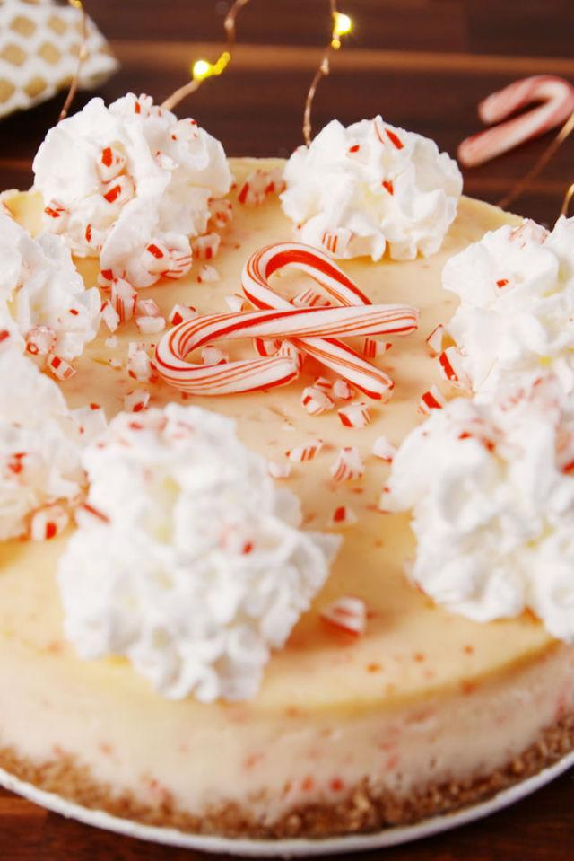 "<p>Your Christmas dessert dreams come true.</p><p>Get the recipe from <a rel=""nofollow"" href=""http://www.delish.com/cooking/recipe-ideas/recipes/a56860/candy-cane-cheesecake-recipe/"">Delish</a>.</p><p><strong><em>BUY NOW: Springform Pan, $14, <a rel=""nofollow"" href=""http://aax-us-east.amazon-adsystem.com/x/c/Qv1qWsrVh9vFsAh9j9fYehoAAAFgE2QuOAEAAAFKAXIzsT4/https://www.amazon.com/Calphalon-Nonstick-Bakeware-Spring-9-inch/dp/B008BULFWS/ref=as_at/?creativeASIN=B008BULFWS&linkCode=w61&imprToken=3NQZgyEBTmx8IeGgA9Tw0w&slotNum=0&s=kitchen&ie=UTF8&qid=1511288398&sr=1-5&keywords=springform+pan&tag=delish_auto-append-20&ascsubtag=[artid