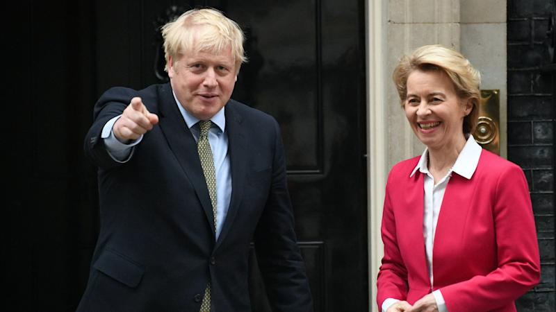 Johnson and von der Leyen to 'take stock' of progress on a trade deal