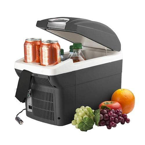 <p>Make sure your food and drinks stay chilled with this cool <span>Wagan EL6206 Portable Electric Cooler/Warmer For Car</span> ($59, originally $70).</p>