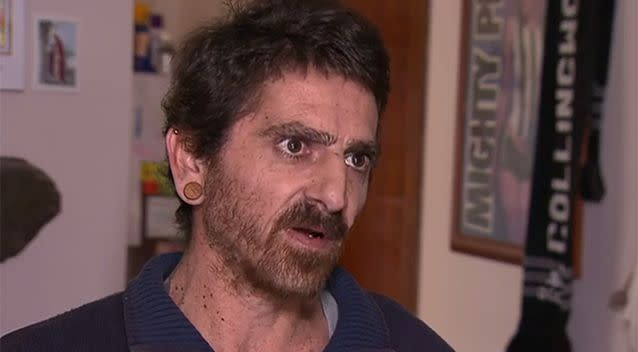 Franco Ciccia said he was woken during the night when the commotion started outside his window. Photo: 7 News