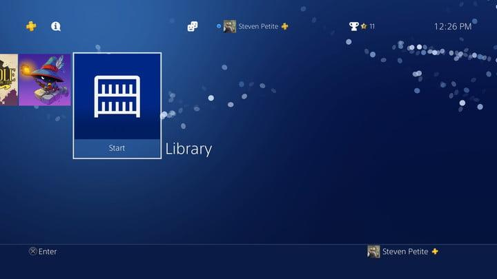 how to organize ps4 game library 20180110122623
