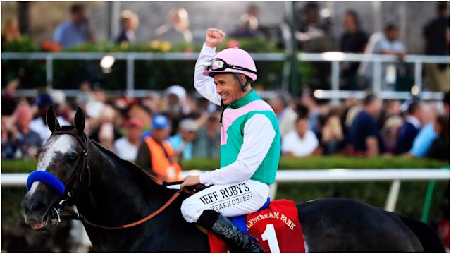 Arrogate has been labelled the dirt version of Frankel, a reputation that will only grow should he triumph in the Dubai World Cup.