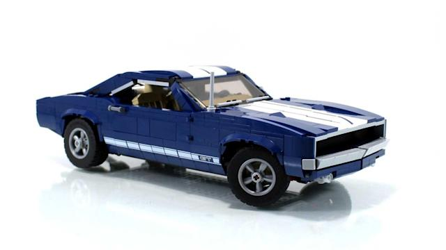 Ford Mustang Lego Set Gets Another Awesome Alternative Build