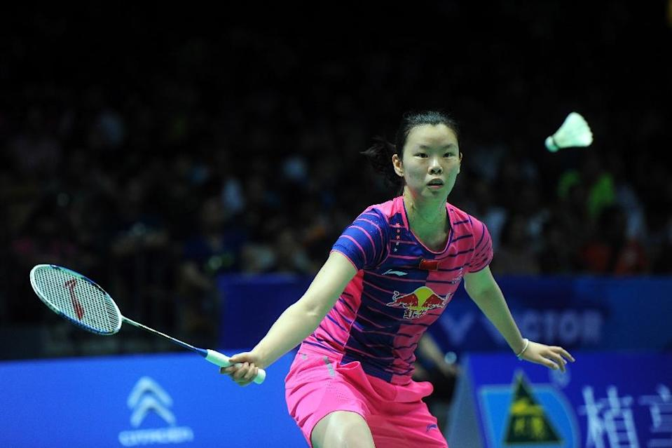 In the Uber Cup, China are favourites to secure their 14th crown with three former world number ones, including Olympic champion Li Xuerui, at their disposal (AFP Photo/)