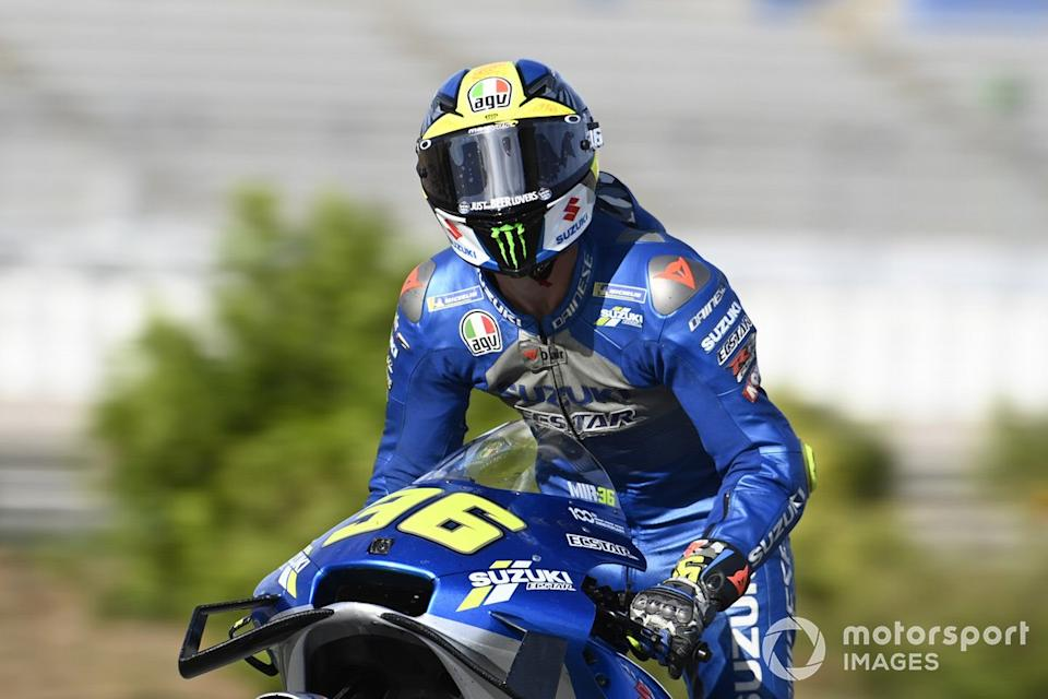 "Ganador Joan Mir, Team Suzuki MotoGP<span class=""copyright"">Gold and Goose / Motorsport Images</span>"