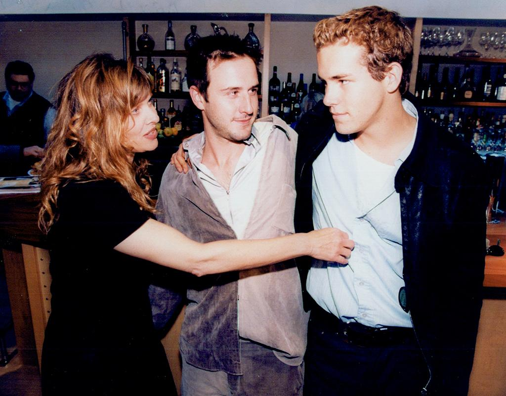 <p>The 21-year-old actor (right) starred with Kate Capshaw (left) and David Arquette (center) in the 1997 comedy. (Photo: Richard Lautens/Getty Images) </p>