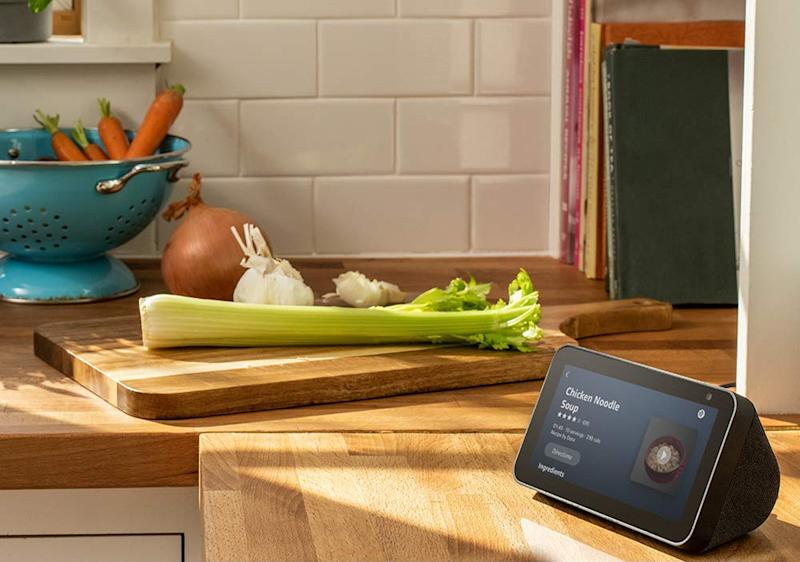 The Echo Show 5 is on sale for the lowest price we've seen before Black Friday. (Photo: Amazon)