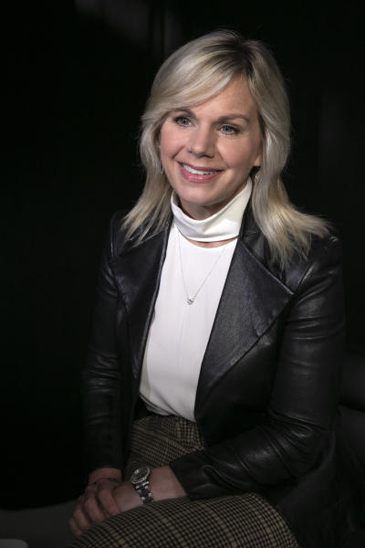 "This Oct. 31, 2019 photo shows former Fox News personality Gretchen Carlson during an interview in New York. Carlson received a reported $20 million settlement from Fox News in 2016 after she sued the network, claiming the late Roger Ailes, then head of the division, demoted then fired her when she rejected his sexual advances. Carlson's allegations have been the basis of two Hollywood projects this year: Showtime's ""The Loudest Voice"" series, which aired earlier this year, and the upcoming ""Bombshell"" where Nicole Kidman stars as Carlson. (AP Photo/Richard Drew)"