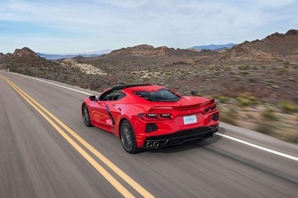 PHOTO: The Corvette Stingray goes from 0-60 mph in 2.9 seconds with the Z51 performance package. (Chevrolet)