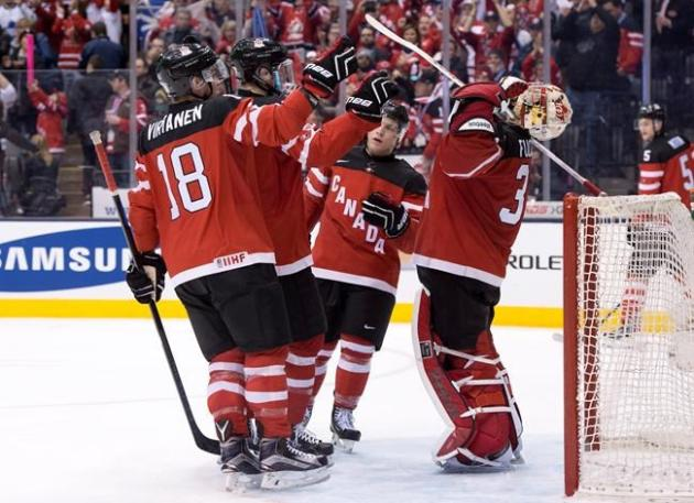 Canada's performance at the world junior hockey championship made for a happy new year at TSN. THE CANADIAN PRESS/Frank Gunn