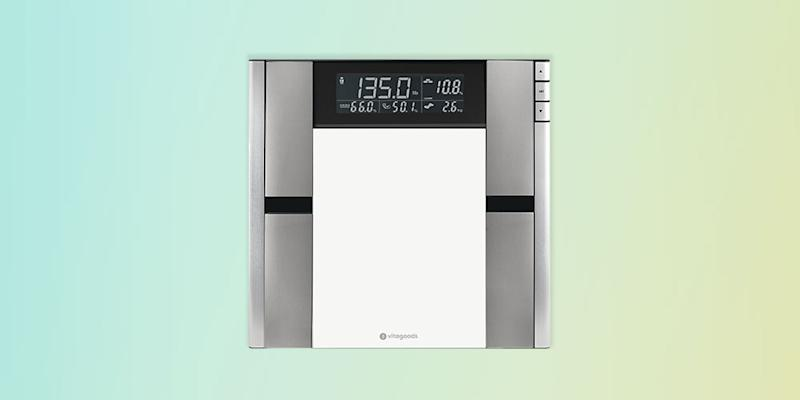 Form Fit Digital Scale & Body Analyzer. (Photo: Yahoo Lifestyle Store)