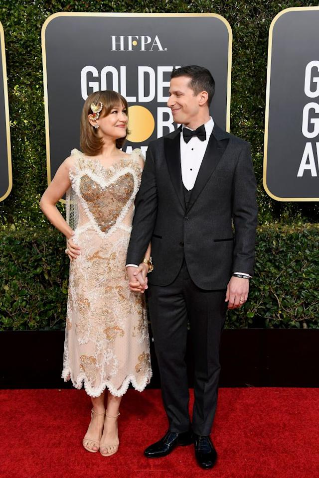 <p>Love is all around at the red carpet for the 2019 Golden Globe Awards, held this evening in Hollywood, California. The awards weren't the only thing being celebrated that evening-couples gathered at one of the more glamorous nights of the year to show us how absolutely adorable and in love they are. From Sabrina Dhowre and Idris Elba to Chrishell Stause and Justin Hartley, here's some of the cutest couples at this year's Golden Globe Awards.</p>