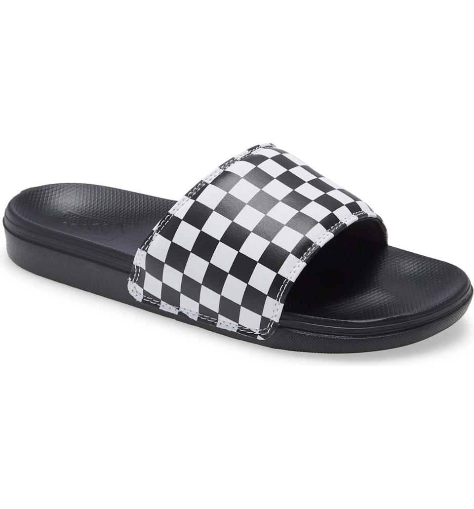 <p>This <span>Vans La Costa Sport Slide</span> ($35) is a timeless classic you'll turn to over and over again.</p>