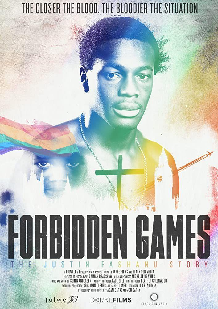 """<p>This complex documentary chronicles the story of Justin Fashanu. In 1990, he became the first <a href=""""https://variety.com/2017/film/reviews/forbidden-games-the-justin-fashanu-story-review-1202411610/"""" rel=""""nofollow noopener"""" target=""""_blank"""" data-ylk=""""slk:professional soccer player to come out as gay"""" class=""""link rapid-noclick-resp"""">professional soccer player to come out as gay</a>, but that was only one of the struggles he'd face in life.<br><br><br><br><br>Want more entertainment news? <a href=""""https://link.womansday.com/join/3o9/wdy-newsletter"""" rel=""""nofollow noopener"""" target=""""_blank"""" data-ylk=""""slk:Sign up for our FREE newsletter"""" class=""""link rapid-noclick-resp"""">Sign up for our FREE newsletter</a> for even more of the Woman's Day content you want.<br></p>"""