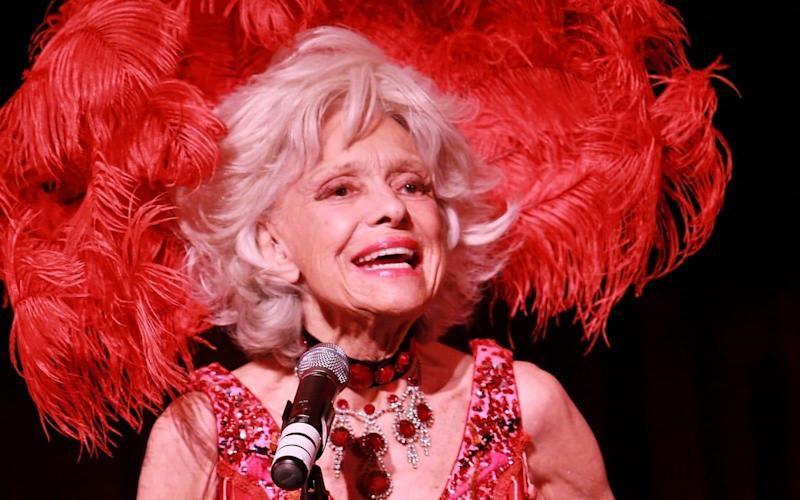 Carol Channing celebrates her 90th Birthday in 2011 - Getty Images Contributor