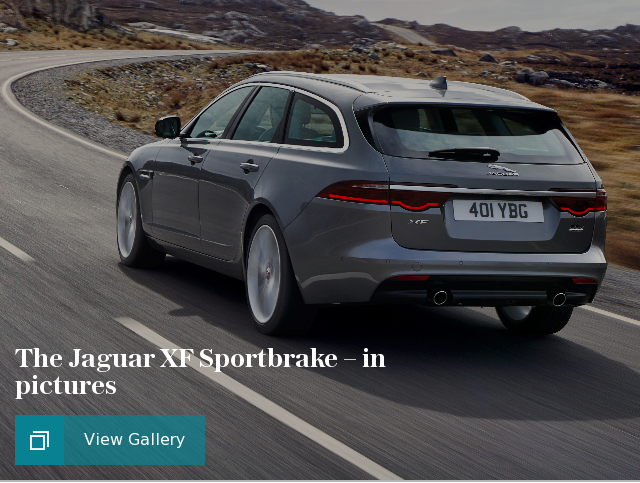 The Jaguar XF Sportbrake – in pictures