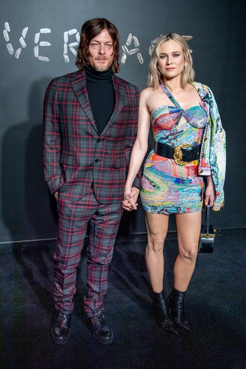 Norman Reedus and Diane Kruger (Photo by Roy Rochlin/Getty Images)
